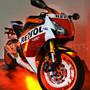 Hi-Intensity Multi-Color Sport Bike Motorcycle 144 LED Light Kit