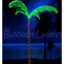 Super Bright LED Tropical Palm Tree with Holographic Palm Fronds