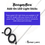 BoogeyBox Add-On LED Light Sticks