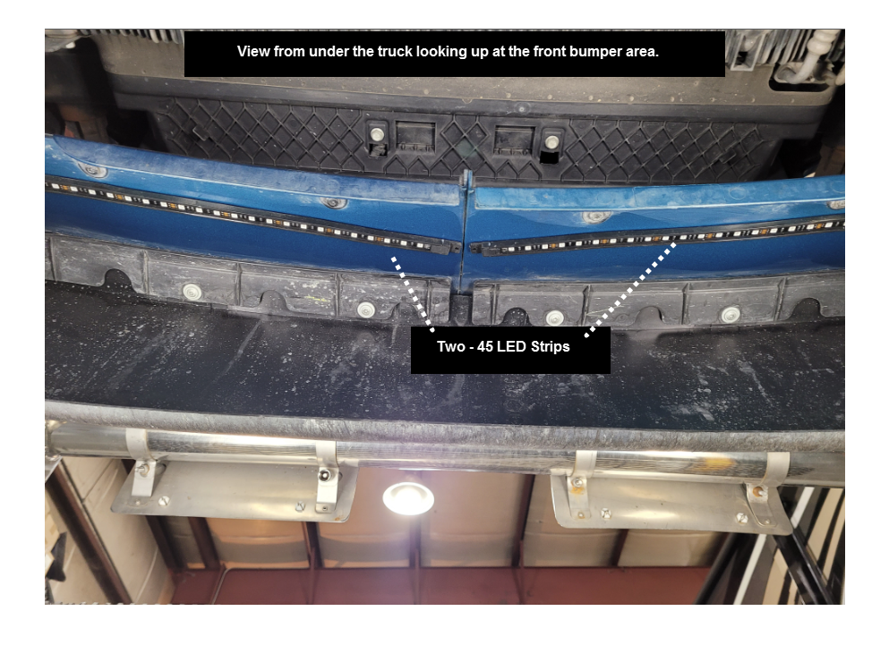 Freightliner Cascadia LED Placement