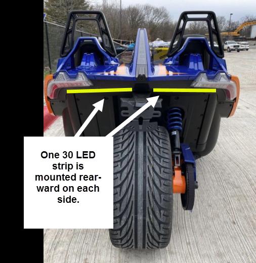 Boogey Lights LED Light Kit for Polaris Slingshot