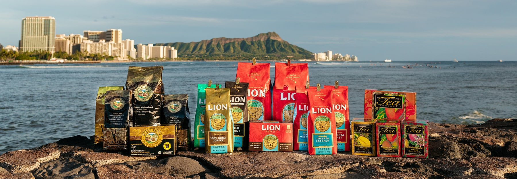 Hawaii Coffee Company Products