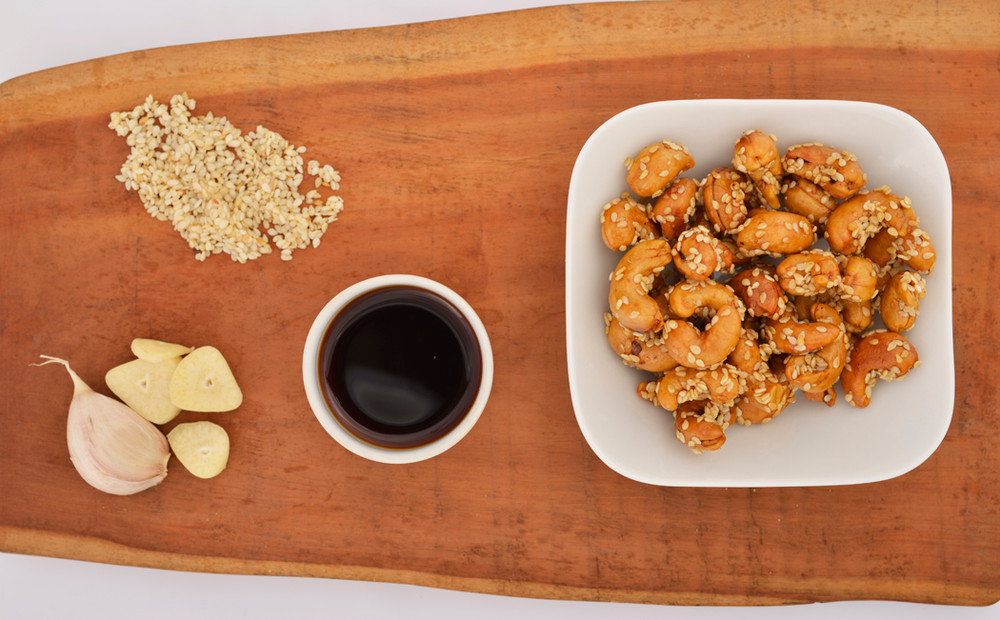 Honey Sesame Cashews (2 bags)