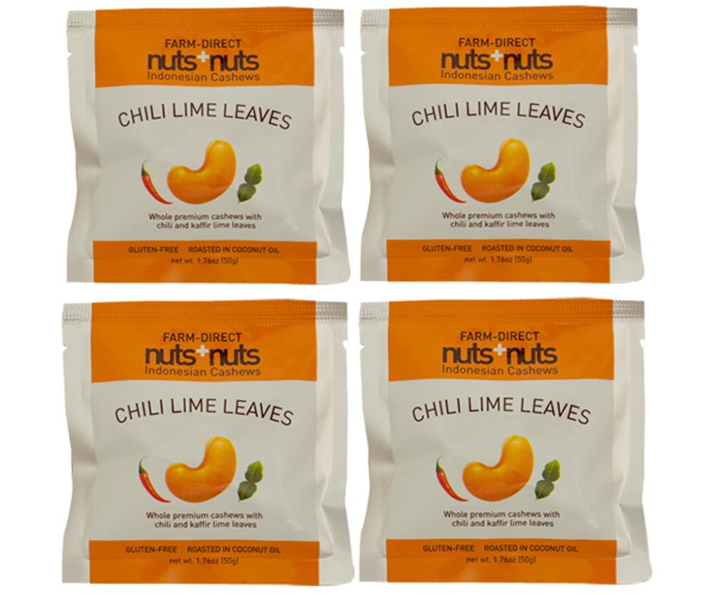 Chili Lime Leaves 1.76 oz (4 packs)