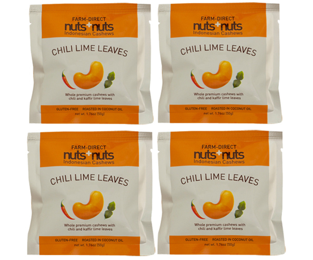 Chili Lime Cashews Snack Pack (4 packs)