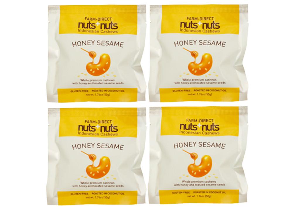 honey roasted cashews single serving