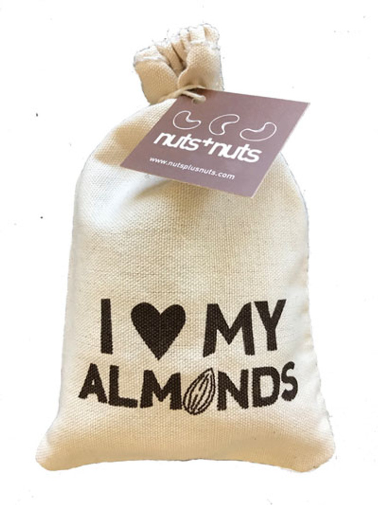 I love my almonds bag