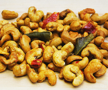 Special Burlap with 6 oz Chili Lime Leaves Cashews