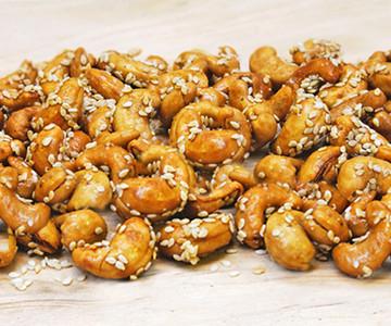 Honey Sesame Cashews Snack Pack (4 packs)
