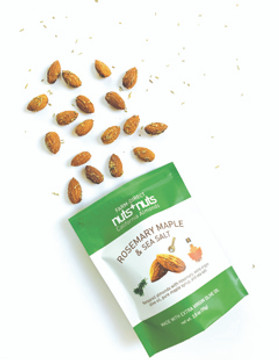 Rosemary maple sea salt almonds 2.5 oz (4 bags)