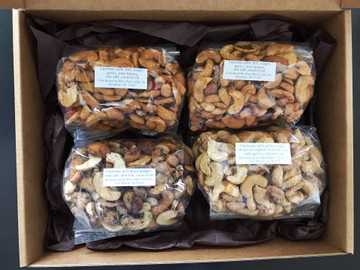 Squirrel Nut Box with variety of flavors
