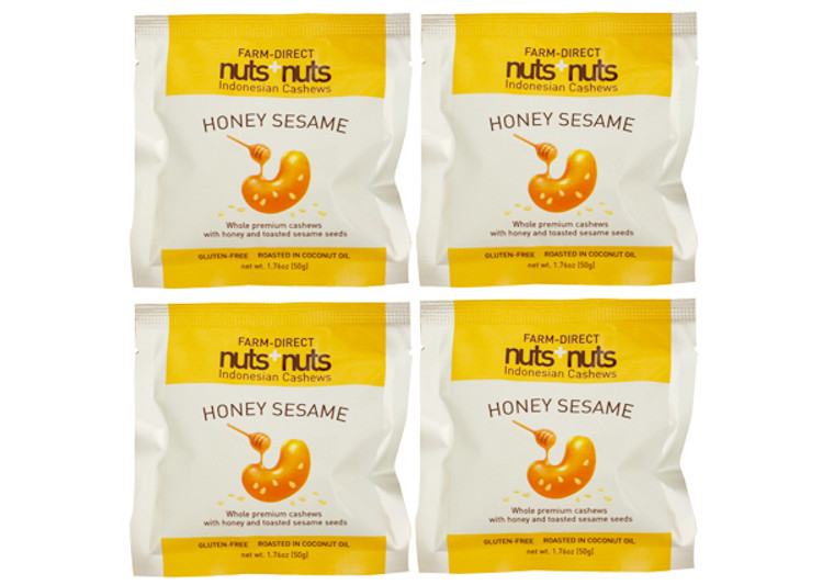 honey roasted cashews single serving