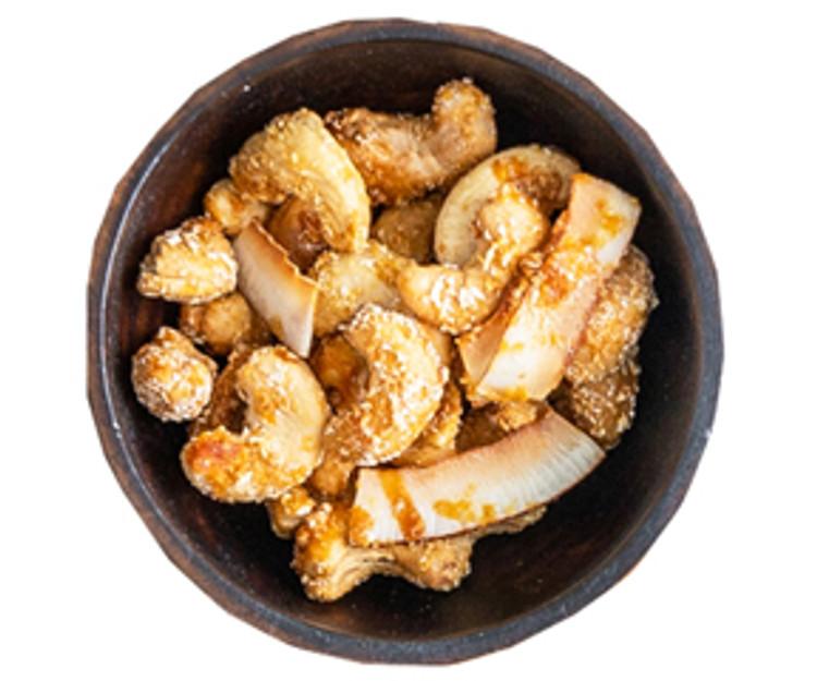 Toasted coconut roasted cashews