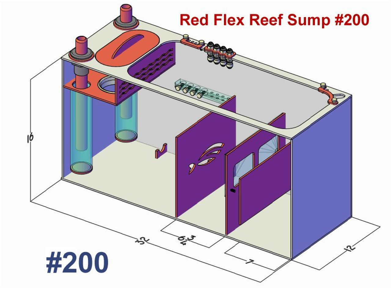 Pro Clear Red Flex Reef Sump 400 gallons
