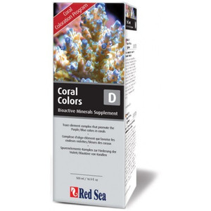 Red Sea Coral Colors D