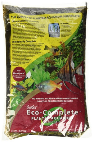 Eco Complete  Planted 20# Black