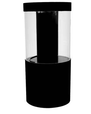 Acrylic Cylinder Combo 80 Gallon complete system (Black)