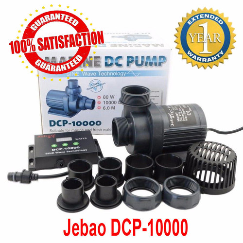 Jebao Pumps DCP line  (External or Submersible Use)
