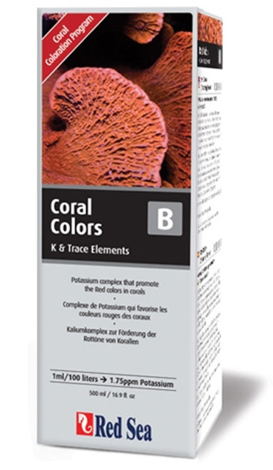 Red Sea Coral Colors B