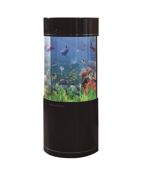 Pro Clear Semicircle Combo 36 Gallon Black  Color