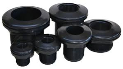 Here you will find the most commonly used Bulkhead fittings