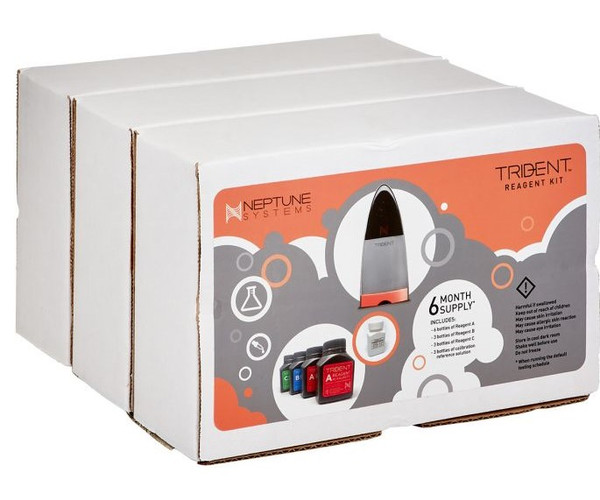 Neptune Systems Apex Trident Reagent Kit (6 Month Supply)
