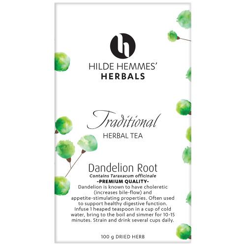 Hilde Hemmes Herbals Dandelion Root Herbal Tea 100g