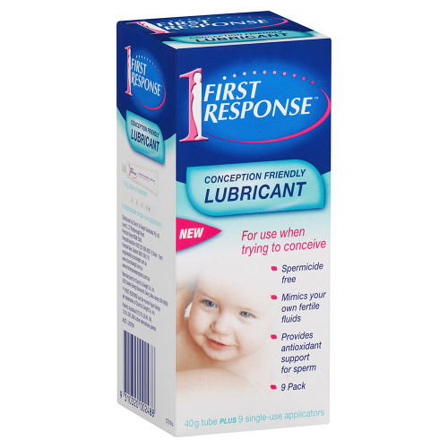 First Response Conception Friendly Lubricant 9 Pack