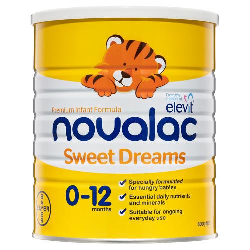 Novolac Sweet Dreams Premium Infant Formula 800g