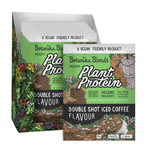 Plant Protein Double Shot Iced Coffee 40g