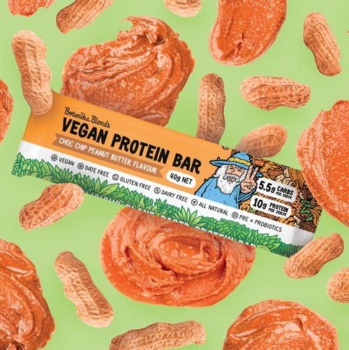 Botanika Bars Choc Chip Peanut Butter Bar 40g