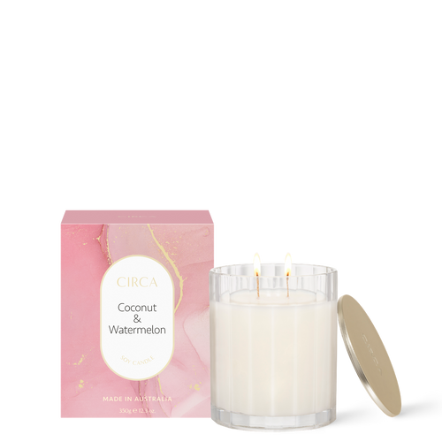 Coconut & Watermelon Soy Candle 350g