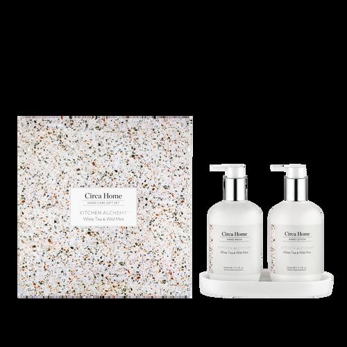 Circa Home Kitchen Alchemy White Tea & Wild Mint Gift Set