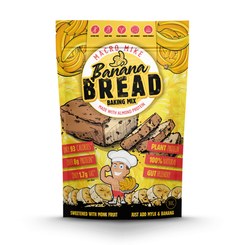 Protein Banana Bread Baking Mix 300g Bag