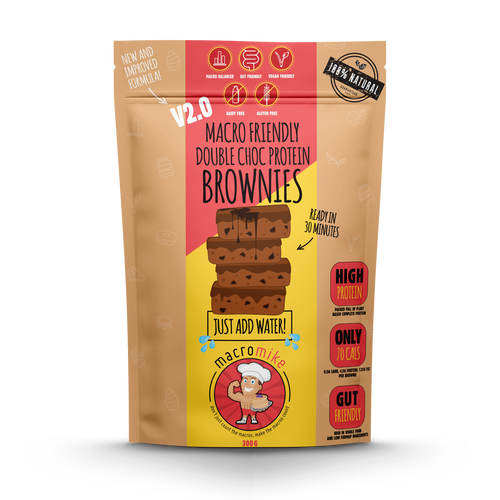 Double Choc Fudge Brownie Mix 300g Bag
