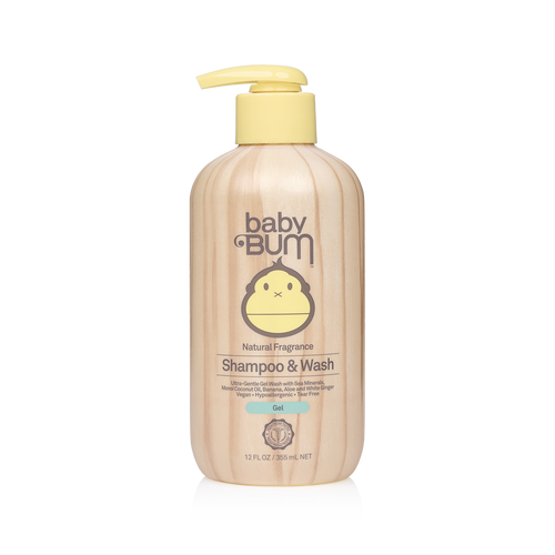 Sun Bum Baby Gel Shampoo & Wash 355ml
