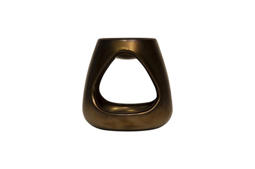 The Aromatherapy Co Bronze Ceramic Oil Burner