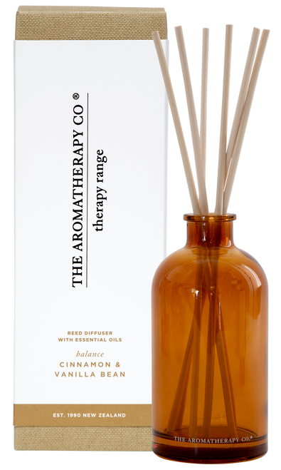 The Aromatherapy Co Balance Cinnamon & Vanilla Bean Diffuser 250ml
