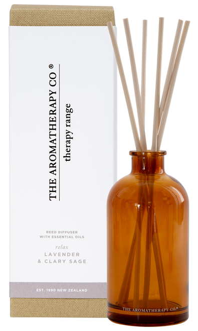 The Aromatherapy Co Relax Lavender & Clary Sage Diffuser 250ml