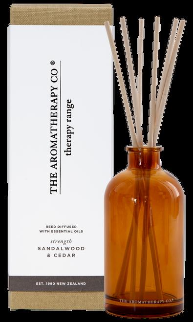 The Aromatherapy Co Strength Sandalwood & Cedar Diffuser 250ml