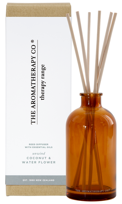 The Aromatherapy Co Unwind Coconut & Water Flower Diffuser 250ml
