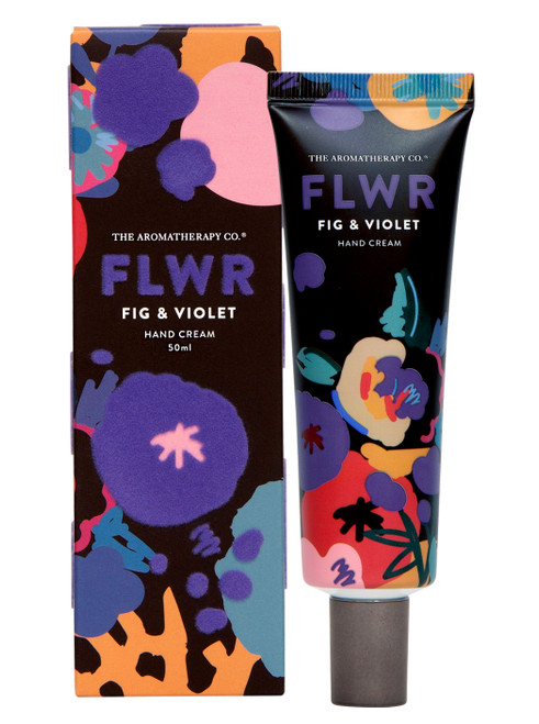 The Aromatherapy Co FLWR Fig & Violet Hand Cream 50ml