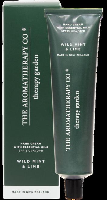 The Aromatherapy Co Garden Wild Mint & Lime SPF15 Hand Cream 75ml