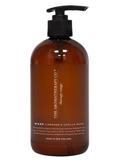 The Aromatherapy Co Cinnamon & Vanilla Bean Hand & Body Wash 500ml