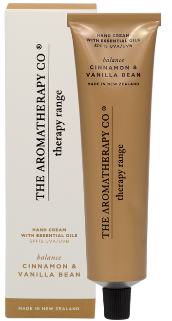 The Aromatherapy Co Balance Cinnamon & Vanilla Bean Hand Cream 75ml