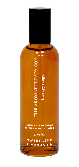 The Aromatherapy Co Uplift Sweet Lime & Mandarin Linen & Room Spray 100ml