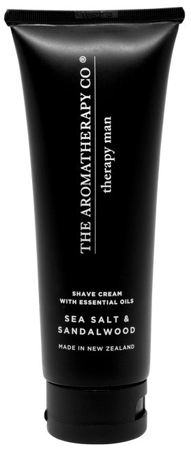 The Aromatherapy Co Man Sandalwood & Sea Salt Shaving Cream 100ml