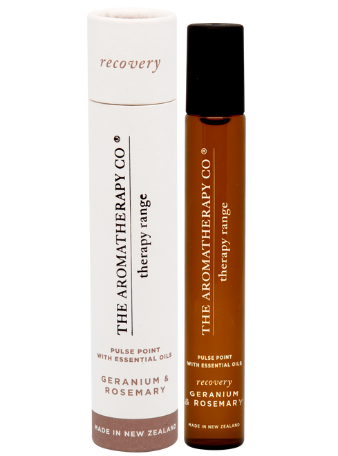 The Aromatherapy Co Recovery Geranium & Rosemary Pulse Point 15ml