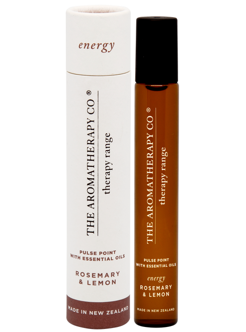 The Aromatherapy Co Energy Rosemary & Lemon Pulse Point 15ml