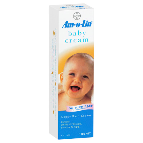 Amolin Nappy Rash Baby Cream 100g